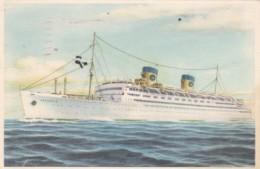 Home Line S S Atlantic 1954