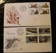 South Africa Transkei 48-51 Goats Weaving Industry 83-86 Tourism Wild Coast Day Of Issue Cancel 1978-1980 A04s - Transkei