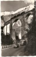 Les Houches Le Viaduc Sainte Marie Train Autocar 2 Chevaux - écrite Excellent état - Les Houches