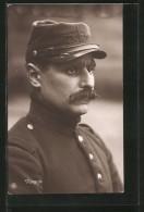 AK Porträt Franz. Kriegsgefangener In Uniform - Guerre 1914-18