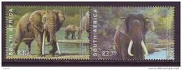 D110713 South Africa 2003 INDIA And AFRICAN ELEPHANTS MNH - Afrique Du Sud Afrika RSA Sudafrika - Südafrika (1961-...)