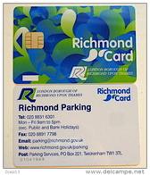 CARTE À PUCE DE PARKING  - RICHMOND - LONDRES - ANGLETERRE - Ver. Königreich