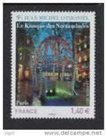 FRANCE 2011-Un Dentelé Gommé KIOSQUE DES NOCTAMBULES** Paris Othoniel 1.40 € - Unused Stamps