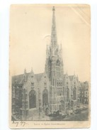 C 28   LILLE CARTE PIONNIERE EGLISE SAINT MAURICE 1903 - Lille