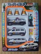 Super Police Butai Diecast Set ( Hayakawa Toys ) - Cars & 4-wheels
