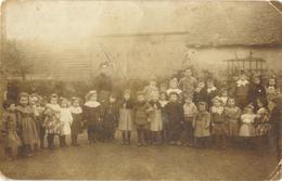 Ecole Primaire (groupe D'enfants Et Institutrice à Identifier) En 1909 - Rânes (Orne)? - - Te Identificeren