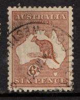 "Australia  1929   ""6d CHESTNUT""   VFU    (0) - 1913-48 Kangaroos"
