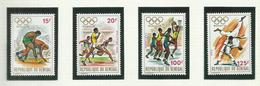 Sénégal  N°368 à 371 Neufs** Cote 5.50 Euros - Senegal (1960-...)