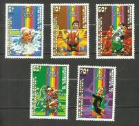 Sénégal  N°439 à 443 Neufs** Cote 3.70 Euros - Senegal (1960-...)