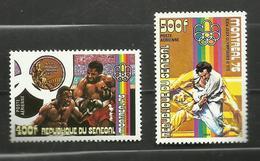 Sénégal  POSTE AERIENNE N°152, 153 Neufs** Cote 12.75 Euros - Senegal (1960-...)