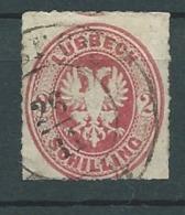 Allemagne  Lubeck Yvert N°10 Oblitéré  - Cw 15905