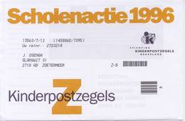 2 X 1701 / Blok Kinderzegels 1996 (100% Postfris / MNH) Met Envelop En Rebus - 1980-... (Beatrix)