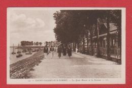 St Valéry Sur Somme   --  Le Quai Blavet Et La Somme - Saint Valery Sur Somme