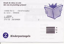 2 X 1855 / Blok Kinderzegels 1999 (100% Postfris / MNH) Met Envelop En Rebus - Period 1980-... (Beatrix)