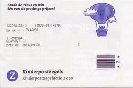 2 X 1930 / Blok Kinderzegels 2000 (100% Postfris / MNH) Met Envelop En Rebus - Period 1980-... (Beatrix)