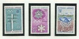 Gabon N°212 à 214 Neufs** Cote 3.15 Euros - Gabón (1960-...)