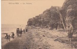 Luc Sur Mer 14 - Plage Escalier Et Falaises - Editeur Bouchez Bazar - RARE - Luc Sur Mer