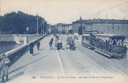 Toulouse 31 - Tramway Pont De Pierre - Editeur Artaud N° 139 Bleue - Toulouse