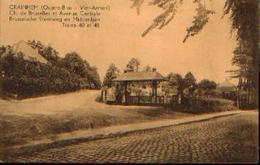 CRAINHEM (Quatre-bras) «Ch. De Bruxelles Et Avenue Centrale - Trams 40 & 45» - Marco Marcovici, Bxl - Kraainem