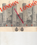 ANGLETERRE -LONDRES - BEAU DEPLIANT TOURISTIQUE 1947- - Dépliants Touristiques