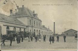 ROANNE - La Gare Des Voyageurs (Cie P.-L.-M.) - Roanne