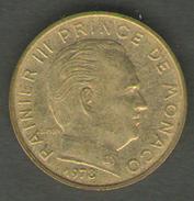 MONACO 10 CENTIMES 1978 - Monaco