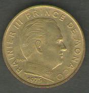 MONACO 10 CENTIMES 1975 - Monaco