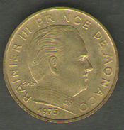 MONACO 10 CENTIMES 1975 - Mónaco