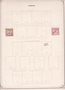 Crète - Collection Vendue Page Par Page - Timbres Oblitérés / Neufs *(avec Charnière) -Qualité B/TB - Kreta