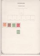 Danemark - Collection Vendue Page Par Page - Timbres Oblitérés / Neufs *(avec Charnière) -Qualité B/TB - Steuermarken