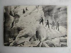 SCENES ET TYPES - Eigergletscher Gletscherbesteigung - Mountaineering, Alpinism