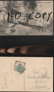 9339) GENOVA USCIO VIA DELLA CHIESA VIAGGIATA 1912 BELLISSIMA E RARA - Genova (Genoa)