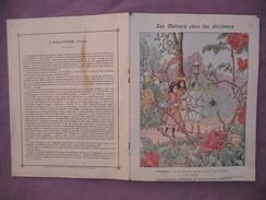 Protège Cahier Illustré Vers 1900 / Les Métiers Chez Les Animaux - L'araignée - Animals