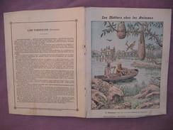 Protège Cahier Illustré Vers 1900 / Les Métiers Chez Les Animaux - Le Cacique - Animals