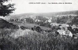 LYONS-LA-FORET (Eure) - Vue Générale, Prise Du Belvédère - Lyons-la-Forêt