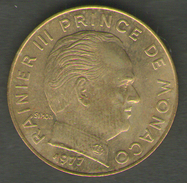 MONACO 20 CENTIMES 1977 - Monaco