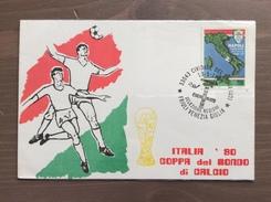 Cartolina Selezione Regioni Italia'90 Annullo Cividale Del Friuli (UD) 13-5-1990 - Fútbol