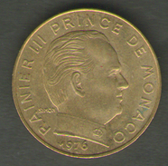 MONACO 20 CENTIMES 1976 - Monaco