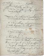Lettre Des Administrateurs Du District De Val Libre (03)au Commissaire Chargé De La Réquisition Des Boeuf, An 2 - Documents Historiques