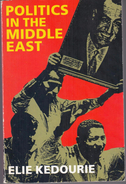 Politics In The Middle East By Kedourie, Elie (ISBN 9780192891549) - History