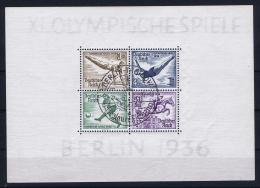 Deutsche Reich: Mi Blocken 5 + 6 Mit Sonderstempel Olympische Spielen 1936 - Blocks & Kleinbögen