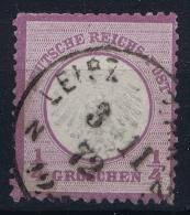 Deutsche Reich:  Mi Nr 1 Gestempelt/used/obl.  Leipzig - Germany