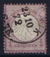 Deutsche Reich:  Mi Nr 1 Gestempelt/used/obl.   1867 - Germany