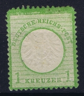 Deutsche Reich:  Mi Nr 7   MH/* Falz/ Charniere 1872 Has A Small Thin Spot - Ungebraucht