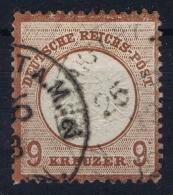 Deutsche Reich:  Mi Nr 27  1872  Gestempelt/used/obl - Germany