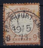 Deutsche Reich:  Mi Nr 27  1872  Gestempelt/used/obl  Signed/ Signé/signiert RVM  Has Some Spots - Germany