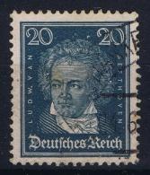 Deutsche Reich:  Mi Nr 392 Y WM Liegend  RR  Gestempelt/used/obl. - Germany