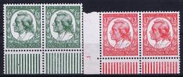 Deutsche Reich:  Mi Nr 554 - 555 MNH/**/postfrisch/neuf Sans Charniere 1934 Schiller Bogenrand