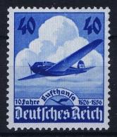 Deutsche Reich:  Mi Nr 603 MNH/**/postfrisch/neuf Sans Charniere 1936