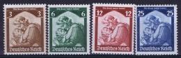 Deutsche Reich:  Mi Nr 565 - 568 MNH/**/postfrisch/neuf Sans Charniere 1935 Saarabstimmung